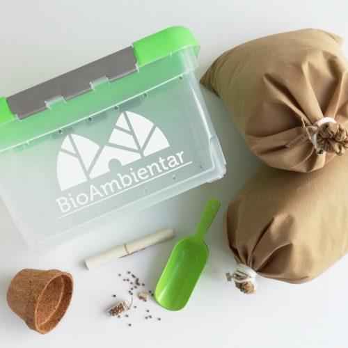 kit de compostaje para niños